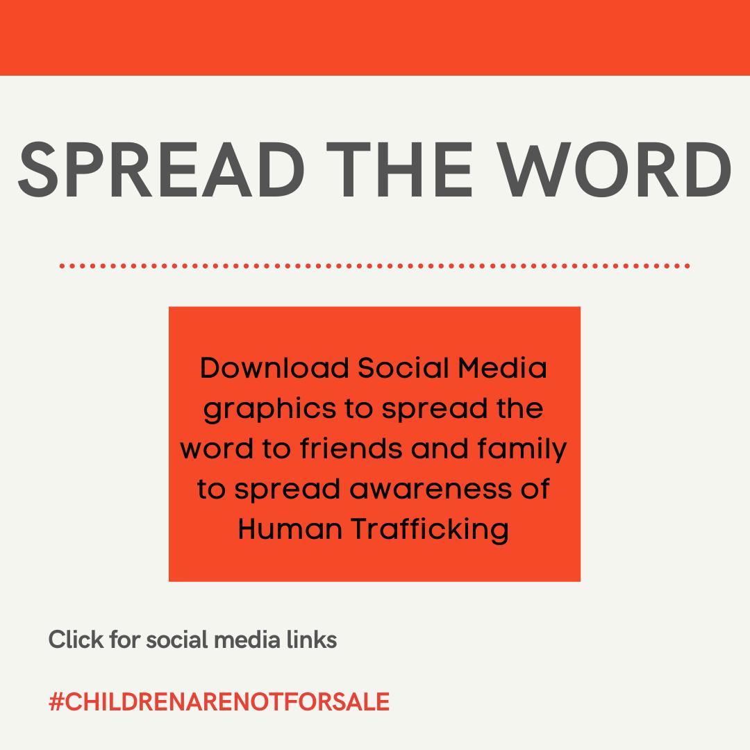 Human Trafficking social media