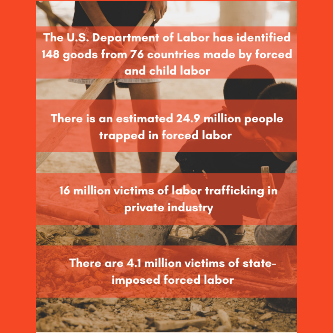 labor trafficking statistics