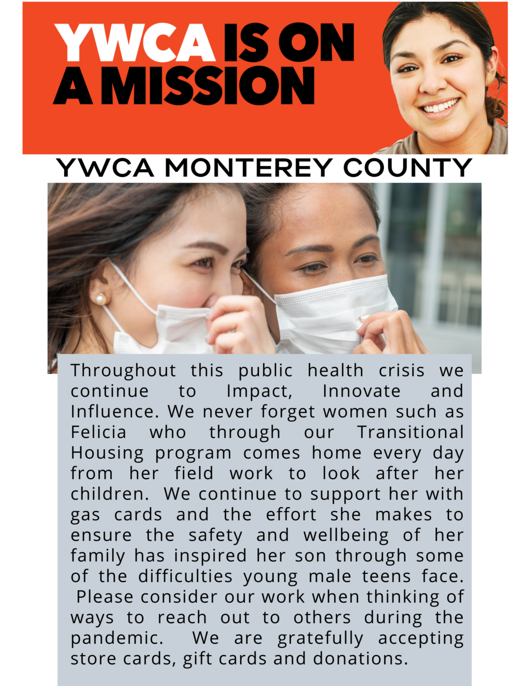 YWCA Monterey County News