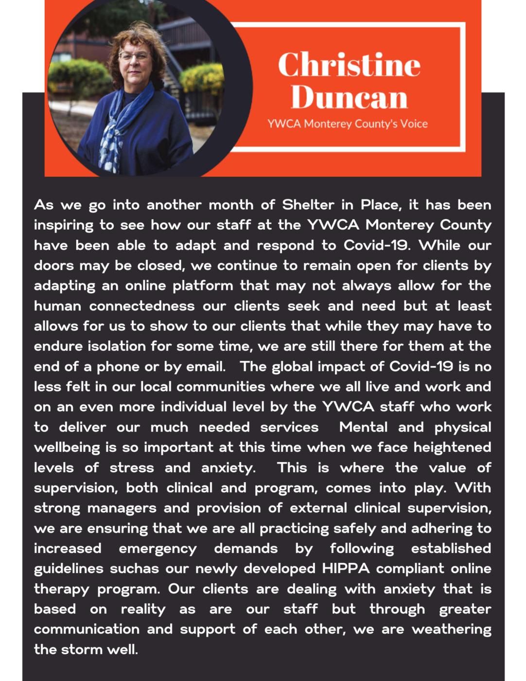 YWCA Monterey County News